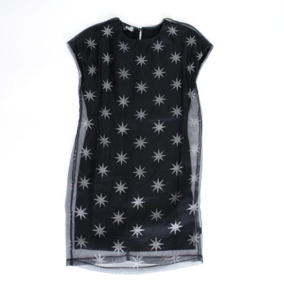 1becc9708a Love Moschino Dresses | Star Print Dress Size 2 Italy | Poshmark